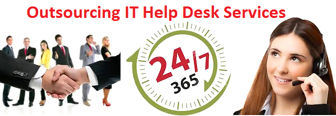 Outsourced after hours help-desk